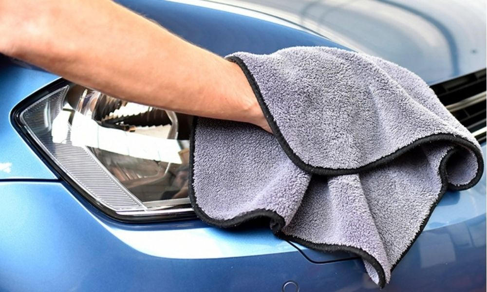 make sure you polish your car to keep the paint in good health.