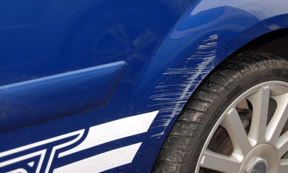 If you car gets a scratch or dent, act quickly to remove it. The longer its there, the harder it will be to get out.