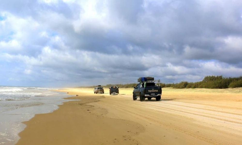 driving on sand or outback can leave your car dirty and needing a clean