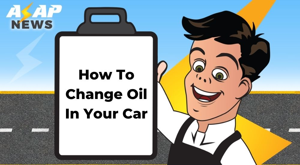 how to change oil in car